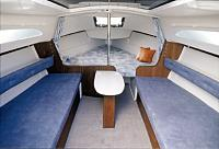 enlarged interior photo of the Catalina 22 MkII spacious cabin